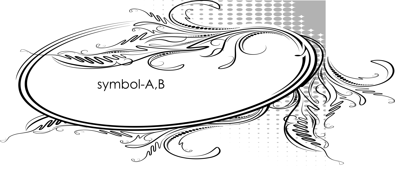 symbol-A,B